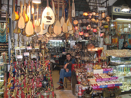 Istanbul Grand Bazar Photo: John Picken - CC-license