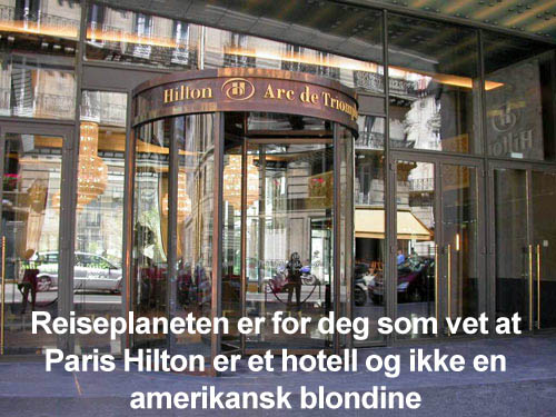 Paris Hilton for deg som elsker ferie