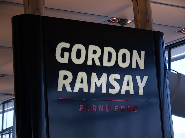 London Plane Food sign