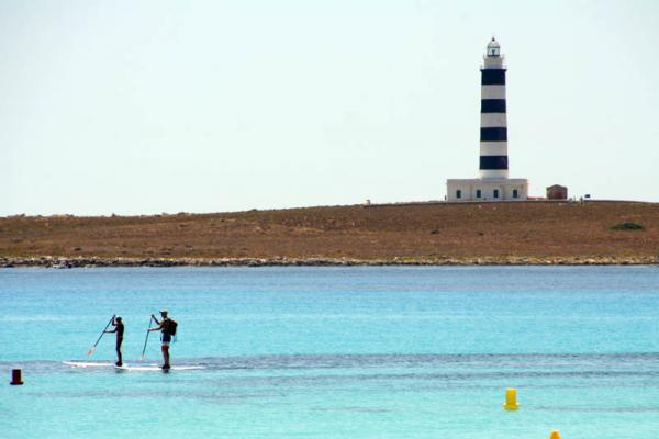 menorca illa de l aire lighthouse 1