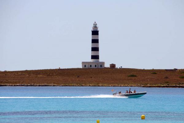 menorca illa de l aire lighthouse