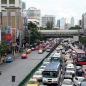 Bangkok City Traffic