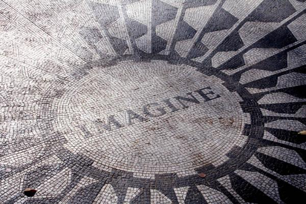 new york central park strawberry fields 1