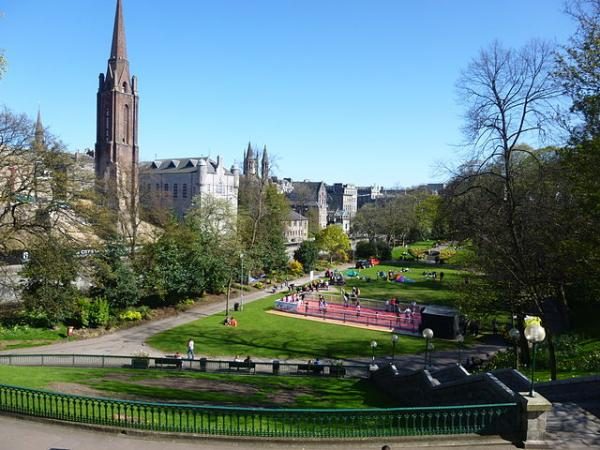 aberdeen union terrace gardens