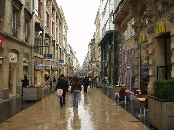 bordeaux rue sainte catherine