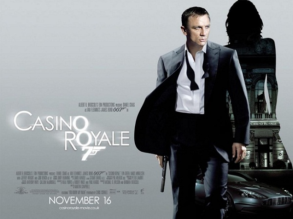 Casino Royale 2 UK cinema poster