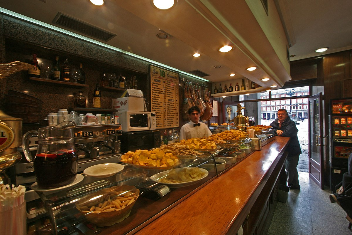 Madrid Plaza Mayor Tapas bar