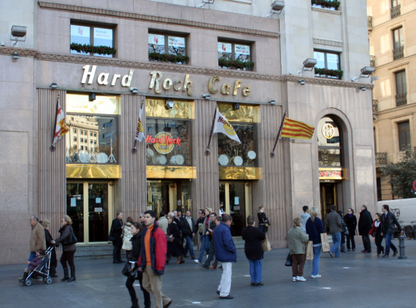 barcelona hard rock cafe