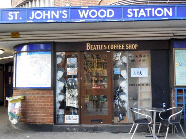 london beatles coffee shop