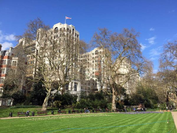 london embankment gardens