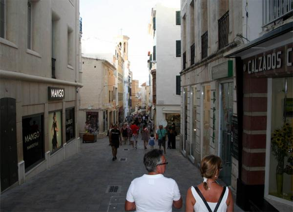 menorca mahon shopping