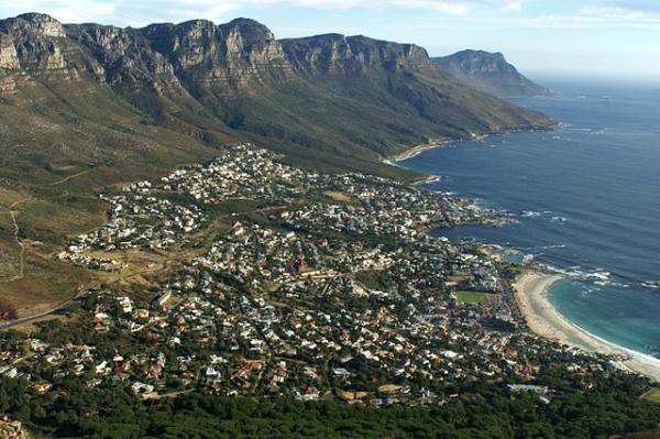 cape town camps bay from lions head