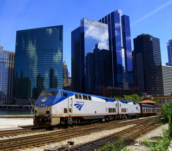 Chicago Amtrak Empire Builder