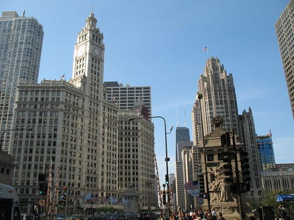Magnificent Mile i Chicago