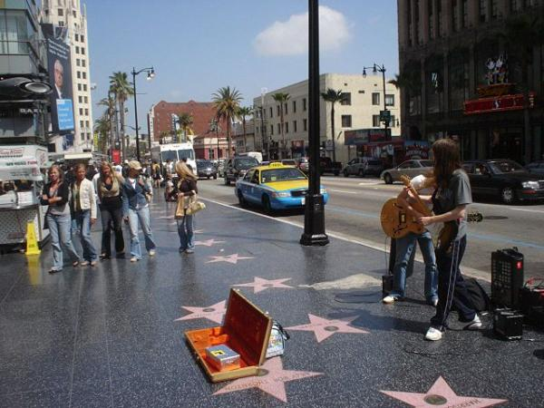los angeles hollywood walk of fame