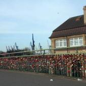 Hamburg Love Locks